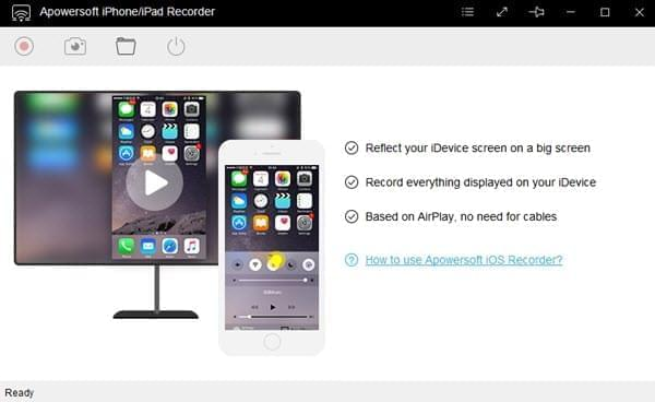 iOS recorder for sharing