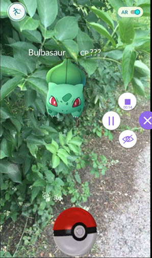 record pokemon go on android